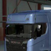 Mirror Antenna V1.4 for Euro Truck Simulator 2