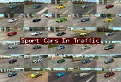 Sport Cars Traffic Pack V9.2 for Euro Truck Simulator 2