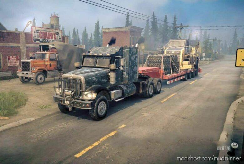 Navistar 5000MV Truck V2.01 for MudRunner