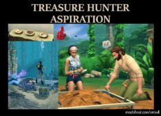 Treasure Hunter Aspiration for The Sims 4
