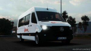 Mercedes-Benz Sprinter 2021 V1R80 [1.42] for Euro Truck Simulator 2