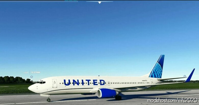 United N39297 V2.0 for Microsoft Flight Simulator 2020