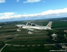 Cirrus SR22 D-Eter for Microsoft Flight Simulator 2020
