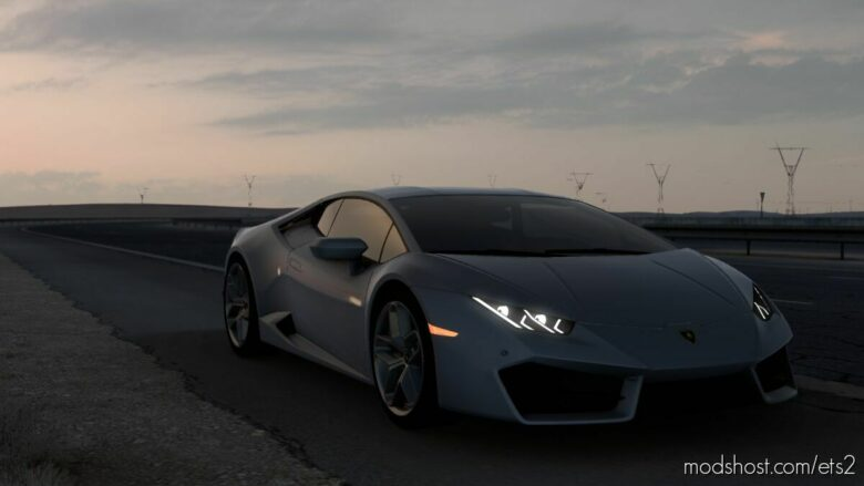 Lamborghini Huracan LP580-2 2017 V1 [1.42] for Euro Truck Simulator 2