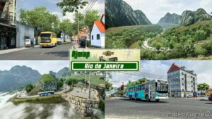 RJ Map (RIO DE Janeiro) [1.41 – 1.42] for Euro Truck Simulator 2