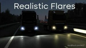 Realistic Flares V3.0 By Leozin [1.41 – 1.42] for Euro Truck Simulator 2