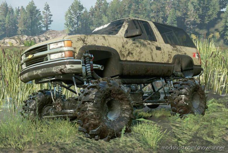 Chevy Tahoe Mega Truck V2.0.0 for SnowRunner