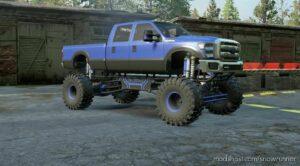 B-350 Diesel Mega MUD Truck V2.0.0 for SnowRunner
