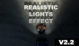 Realistic Lights Effect V2.2 for Euro Truck Simulator 2