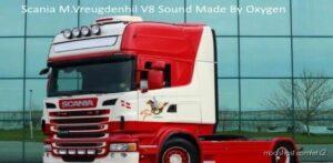 Scania M.vreugdenhil V8 Sound [1.41] for Euro Truck Simulator 2