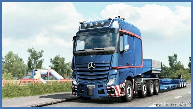 BIG Stars – Actros/Arocs SLT V1.6.7 [1.42] for Euro Truck Simulator 2