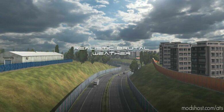 Realistic Brutal Weather V4.2 [1.42] for American Truck Simulator