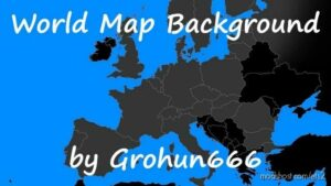 World Map Background [1.42] for Euro Truck Simulator 2