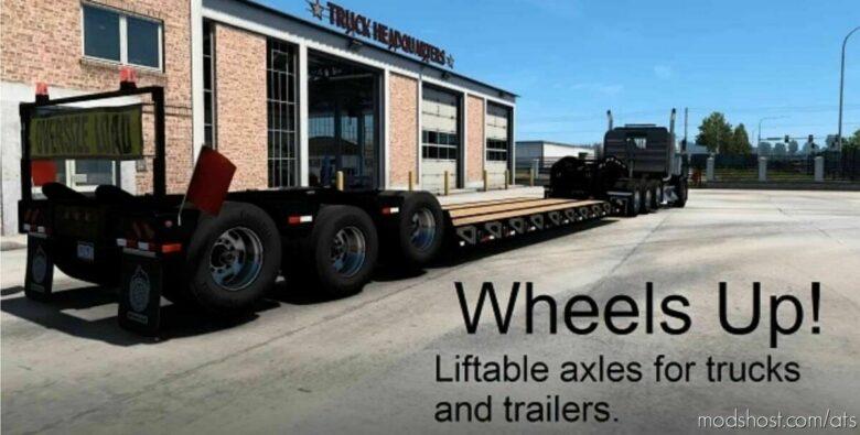 Wheels UP V1.02 for American Truck Simulator