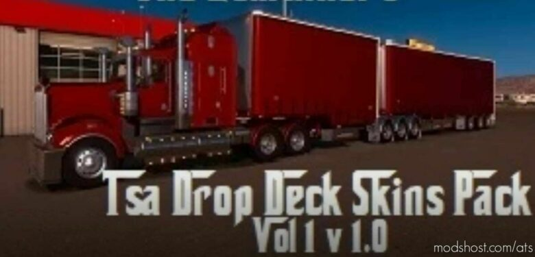 The Godfather's TSA Drop Deck Skins Pack VOL 1 for American Truck Simulator