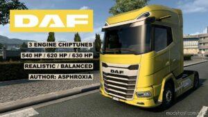 Chiptuned MX-13 For DAF 2021 V1.2 for Euro Truck Simulator 2