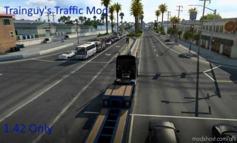 Trainguy's Traffic Mod [1.42] for American Truck Simulator