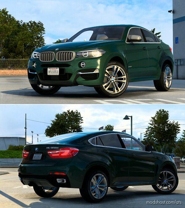 BMW X6 M F16 V2.2 [1.42] for American Truck Simulator