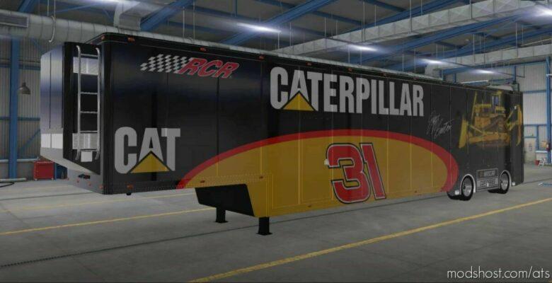 Nascar Featherlite Trailer Skins V1.3 [1.42] for American Truck Simulator