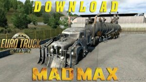 Scania 111S Madmax Truck + Trailer V1.1 [1.42] for Euro Truck Simulator 2
