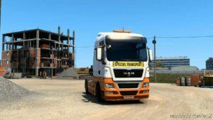 Oversize Load Truck Paintjob for Euro Truck Simulator 2